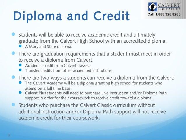 The New Calvert High School Design Brief