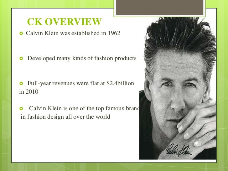"""swot calvin klein Calvin klein""""s advertising and marketing are worldwide  (see swot analysis for  calvin klein brands calvin klein collection ck calvin klein calvin."""