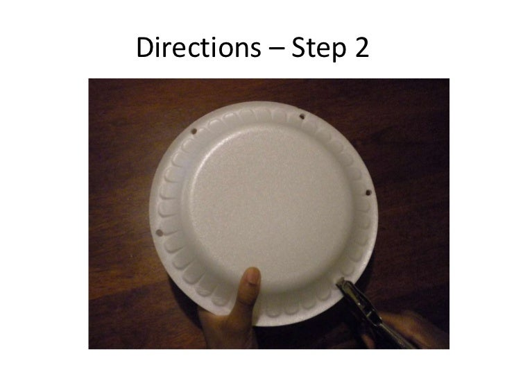 how to make a tambourine step by step