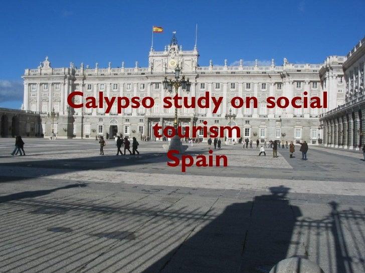 Calypso study on social       tourism        Spain