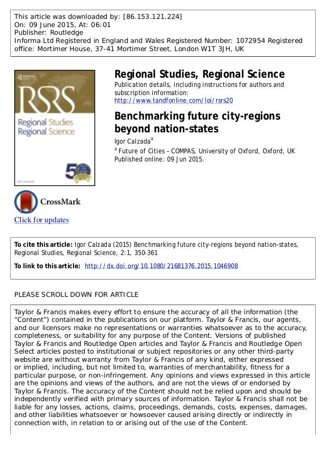 This article was downloaded by: [86.153.121.224] On: 09 June 2015, At: 06:01 Publisher: Routledge Informa Ltd Registered i...