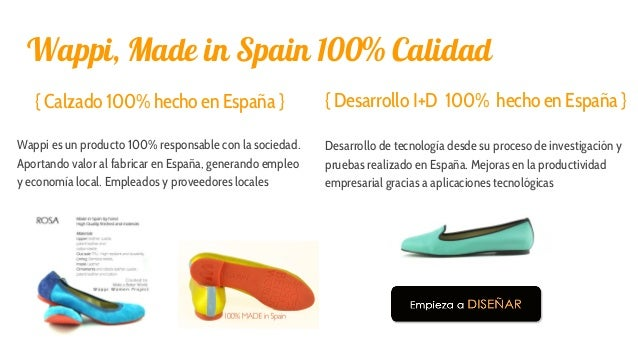Wappi, Made in Spain 100% Calidad { Calzado 100% hecho en España } Wappi es un producto 100% responsable con la sociedad. ...