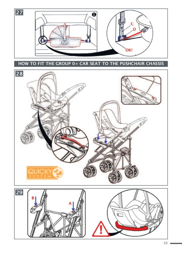 Cam Combi Family Baby - manual and maintenance