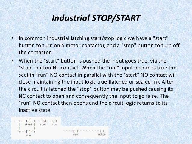cam ladder logic diagram Latching Relay Wiring Diagram circuit truth table equivalent plc ladder logic; 16