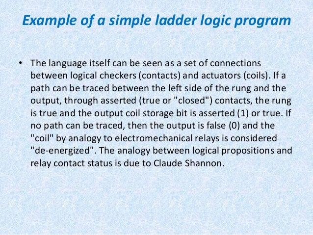 Cam ladder logic diagram 6 example of a simple ladder logic ccuart Images