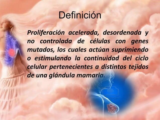 Epidemiología  La principal causa de muerte en México oncologicamente en mujeres de 20 y más años es por cáncer de mama (...