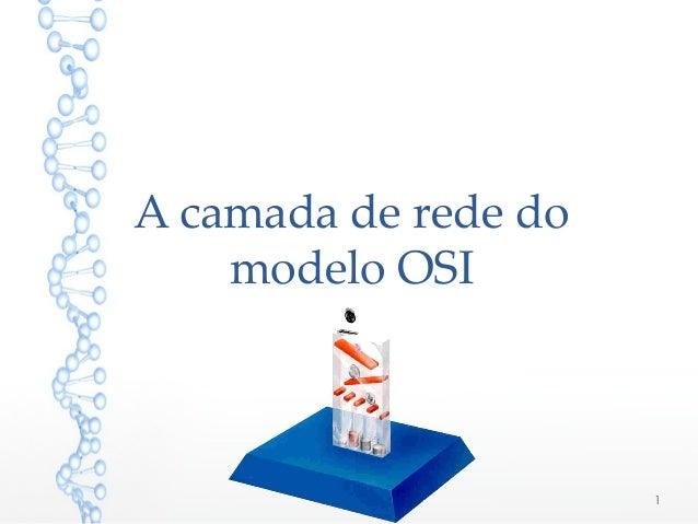 A camada de rede do modelo OSI 1
