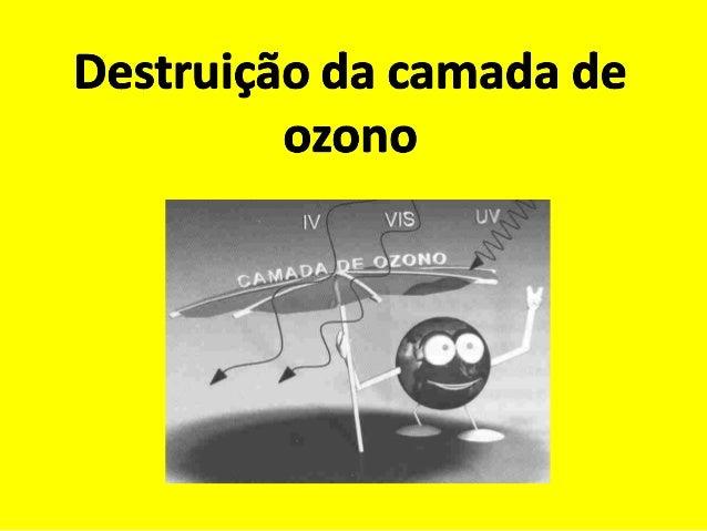 Ozono é uma molécula constituída por três átomos deoxigénio (O). Cerca de 90 % deste gás que existe naatmosfera, localiza-...