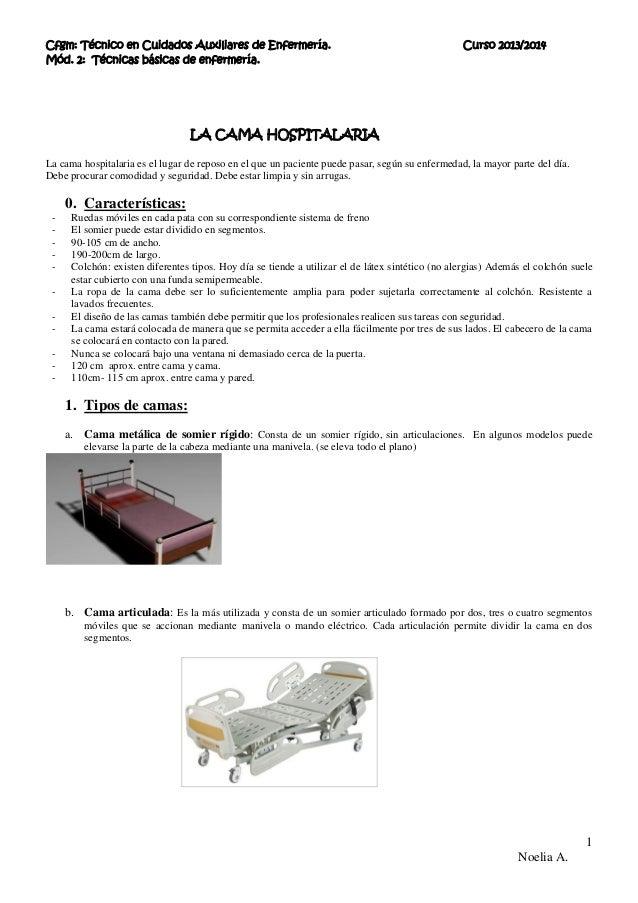 Cama hospitalaria 13 14