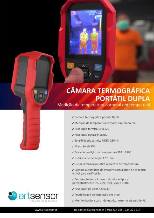 Câmara termográfica - portátil - Artsensor