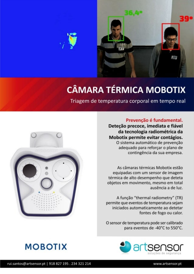 Câmara termográfica - MOBOTIX- Artsensor