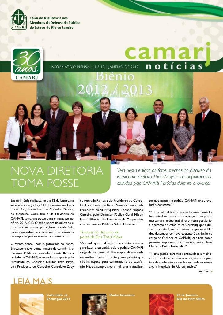 Caixa de Assistência aos              Membros da Defensoria Pública              do Estado do Rio de Janeiro              ...