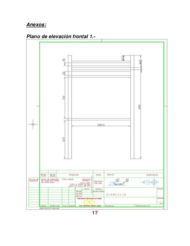 Camarote escritorio fin for Planos de escritorios