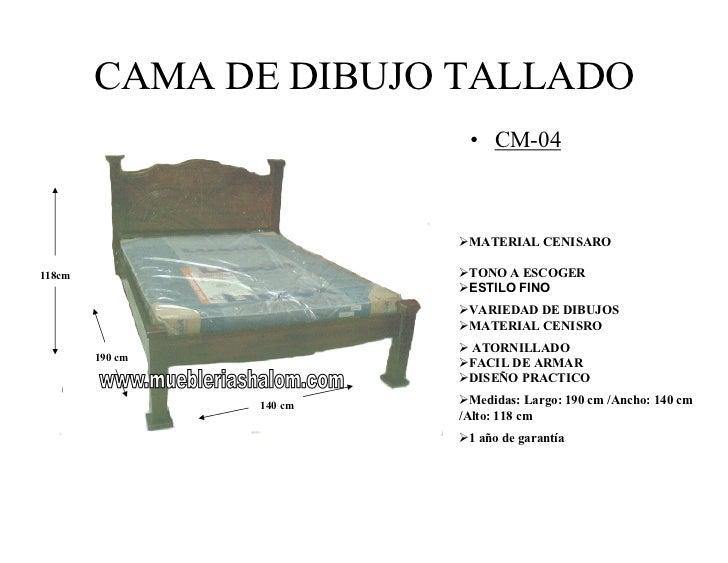 Cama matrimonial medidas ideas de disenos for Medidas para cama individual