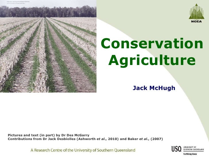 Conservation                                                    Agriculture                                               ...