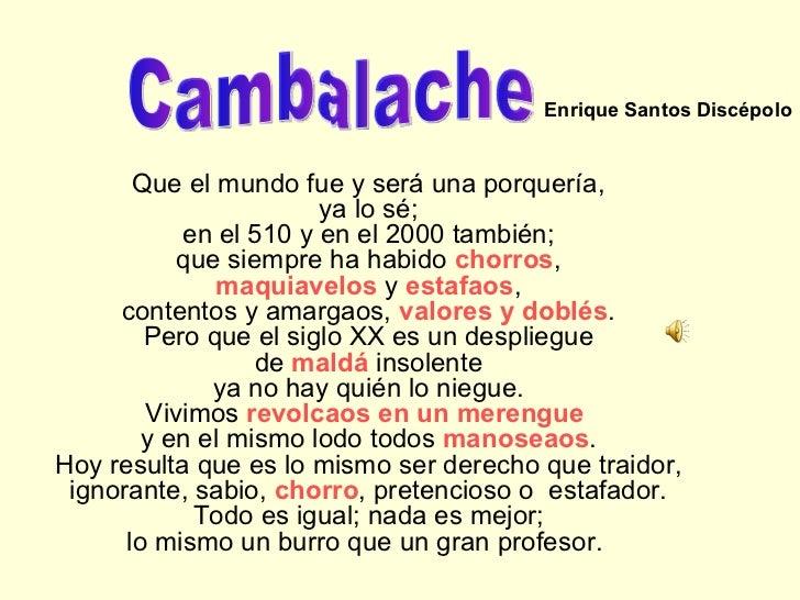 Cambalache Sosa