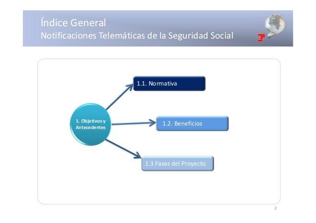 Notificaciones telemáticas Seguridad Social Slide 2