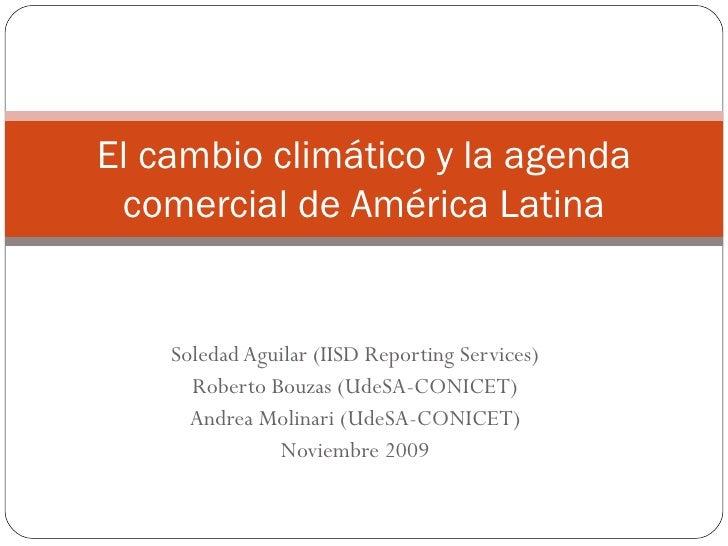 Soledad Aguilar (IISD Reporting Services) Roberto Bouzas (UdeSA-CONICET) Andrea Molinari (UdeSA-CONICET) Noviembre 2009 El...