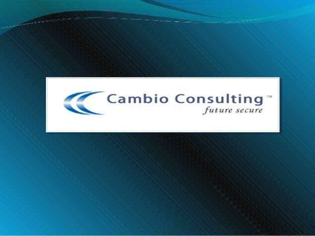 Cambio Consulting Cambio Consulting is a Human Resource Management company. We have extensive experience in Executive se...