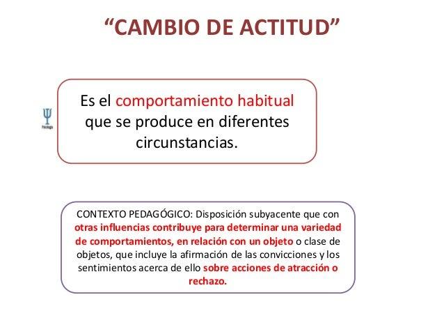 Cambio de actitud Slide 3