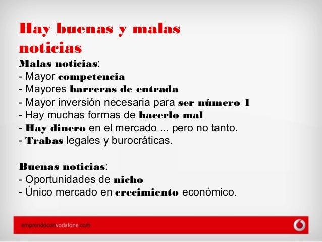 Cambio de modelo de negocio en Internet - EmprendoconVodafone.com Slide 2