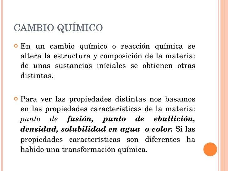 Cambio quimico for Cuales son las caracteristicas de un mural