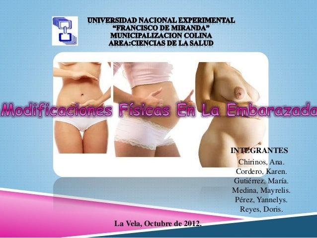 INTEGRANTES Chirinos, Ana. Cordero, Karen. Gutiérrez, María. Medina, Mayrelis. Pérez, Yannelys. Reyes, Doris. La Vela, Oct...
