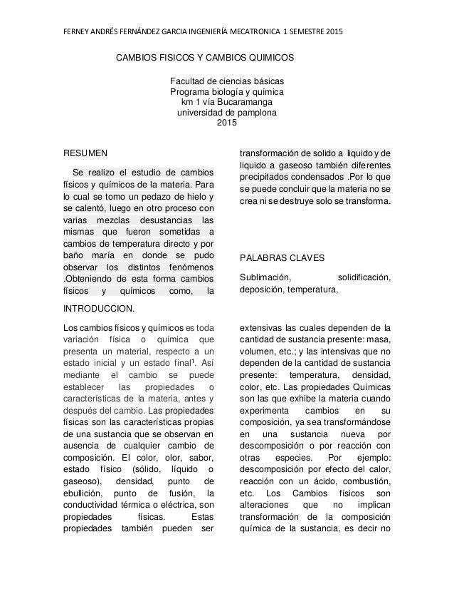 A1 Auto Sales >> informe de laboratorio de cambios físicos y quimicos practica N-4 UP