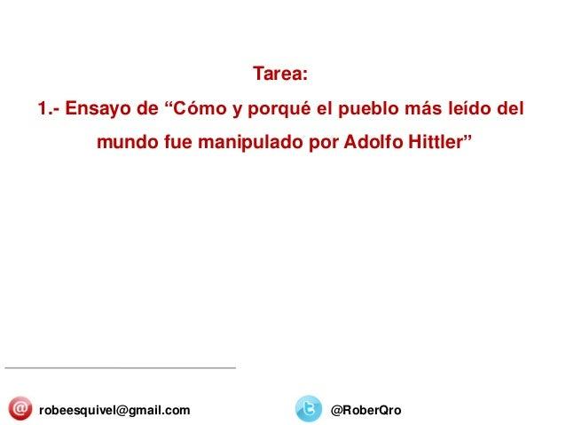 """SECTORES Y ORGANIZACIONES 25/Diciembre/2013 Tarea: 1.- Ensayo de """"Cómo y porqué el pueblo más leído del mundo fue manipula..."""