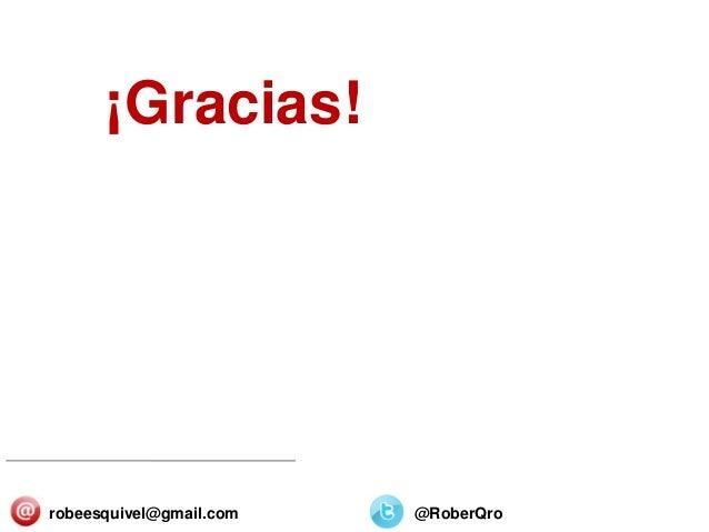 SECTORES Y ORGANIZACIONES 25/Diciembre/2013 ¡Gracias! robeesquivel@gmail.com @RoberQro