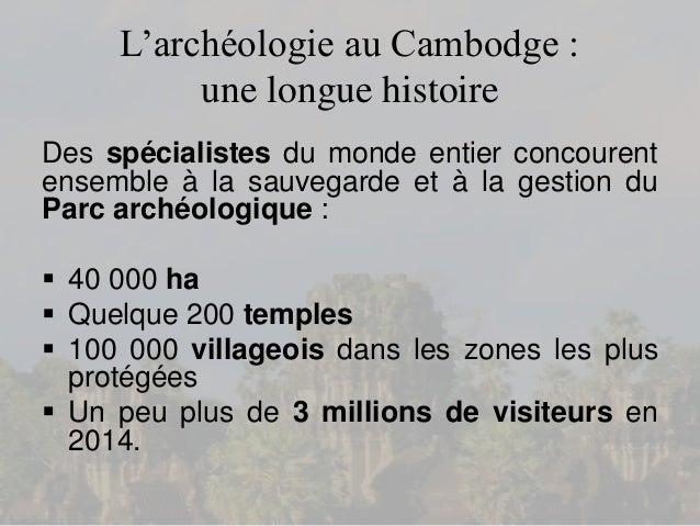 Hors-série n°1 de Cambodge Nouveau sur l'Archéologie Slide 3
