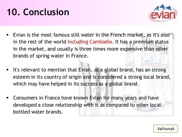 evian water swot See more ideas about bottle, bottled water and drink  swot up on icelandic  beer with this great new infographic featuring  paul smith evian water bottle.