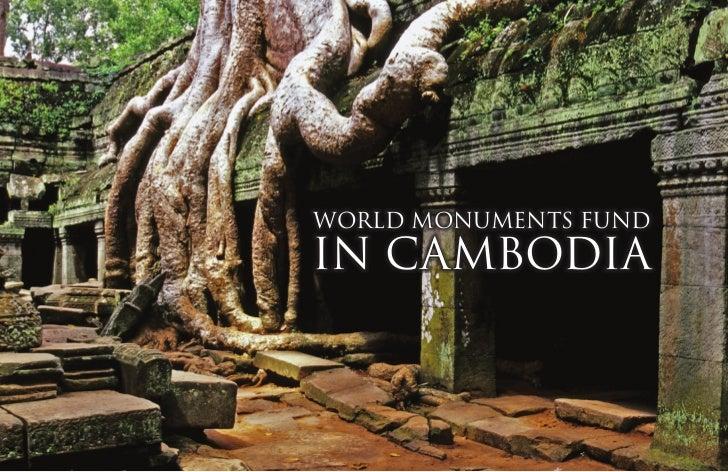 World Monuments FundIn Cambodia
