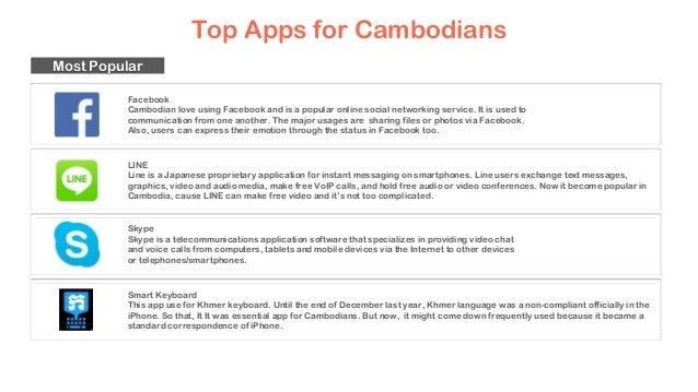 Cambodia chat app