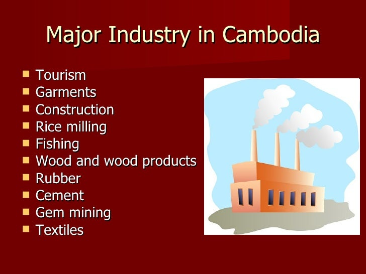 Presentation on cambodia for Portant industriel
