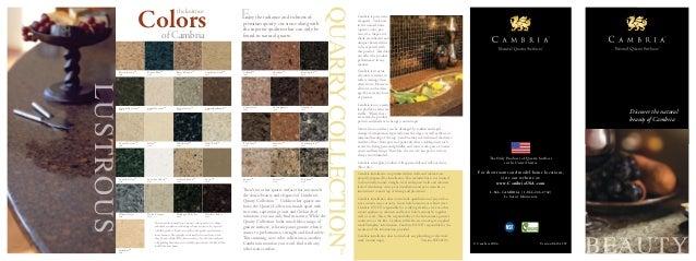 Cambria Quartz Brochure