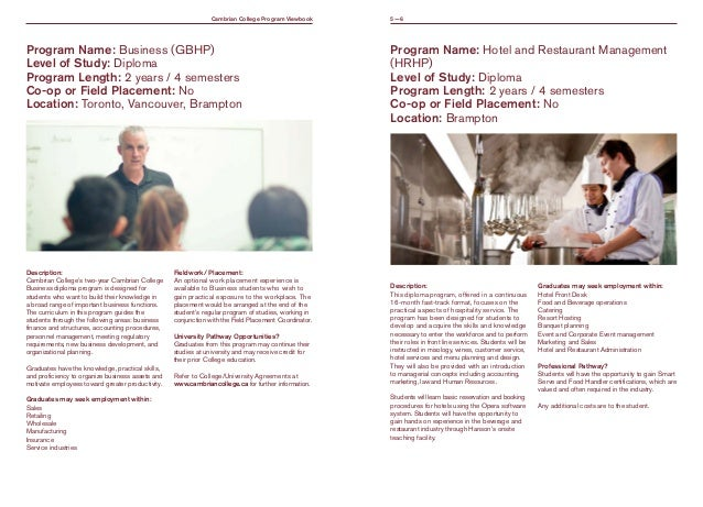 cambrian college brochure 2016v2digital – College Brochure