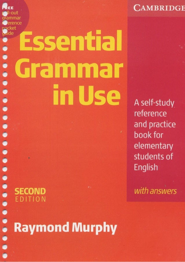 Pdf in essential cambridge grammar use