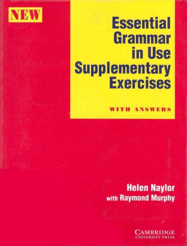 Essential English Grammar In Use Raymond Murphy Pdf
