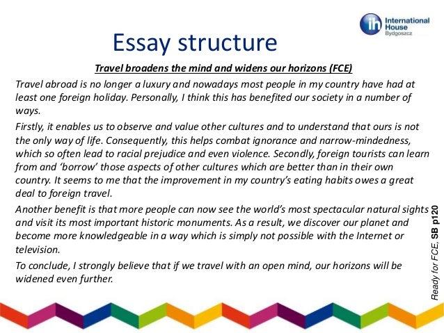 travel broadens the mind debate