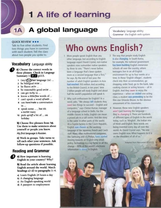 Face2face English Book