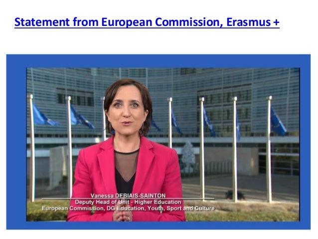 Statement from European Commission, Erasmus +