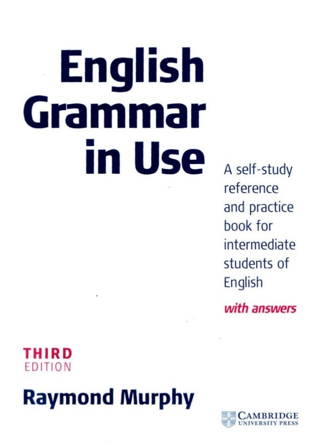 BEST GRAMMAR BOOK FOR STUDENTS OF ENGLISH (SELF-STUDY)