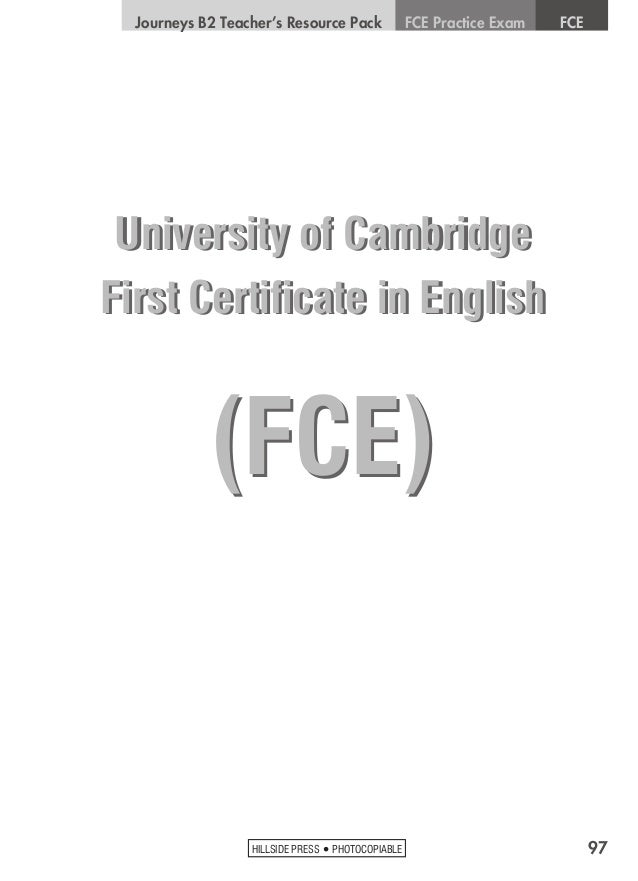 FCE Listening Test - 1º Examen B2 📚🎧 - YouTube