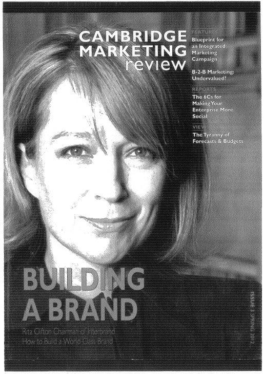 My EU Privacy article in Cambridge Marketing Review  magazine