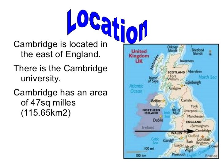 Cambridge Powerpoint - Where is cambridge