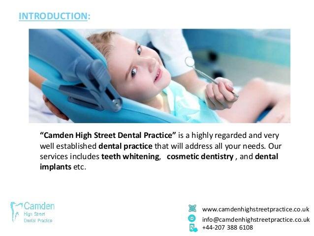 "www.camdenhighstreetpractice.co.uk info@camdenhighstreetpractice.co.uk +44-207 388 6108 INTRODUCTION: ""Camden High Street ..."
