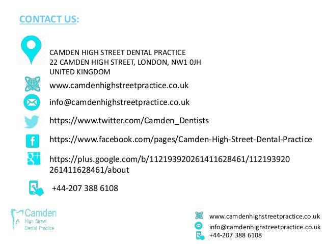 www.camdenhighstreetpractice.co.uk info@camdenhighstreetpractice.co.uk +44-207 388 6108 CONTACT US: www.camdenhighstreetpr...