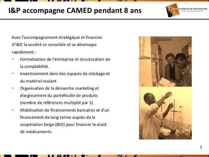 I&P et Camed Slide 2