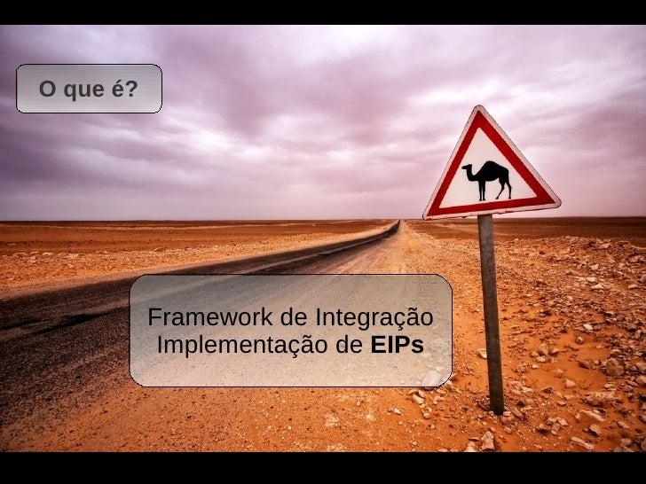 Divirta-se com Apache Camel, Twitter e Enterprise Integration Patterns Slide 3